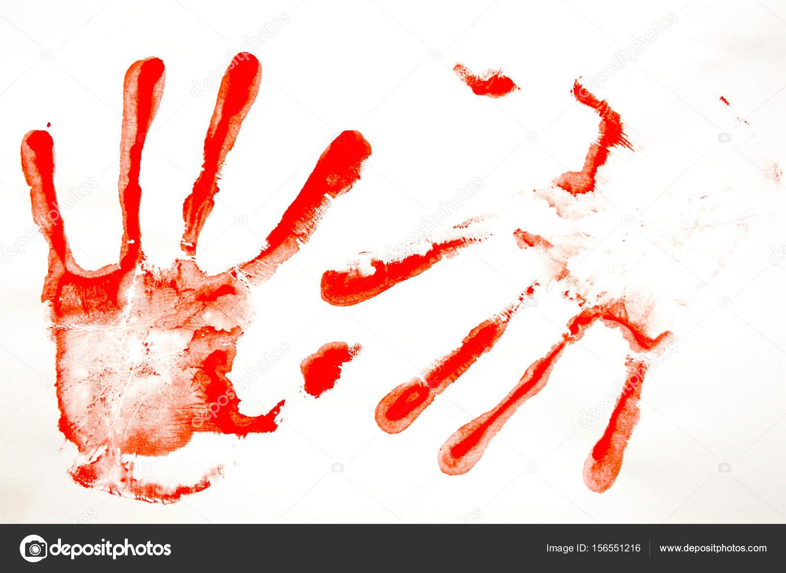 vörös vér foltok a kezek fénykép)