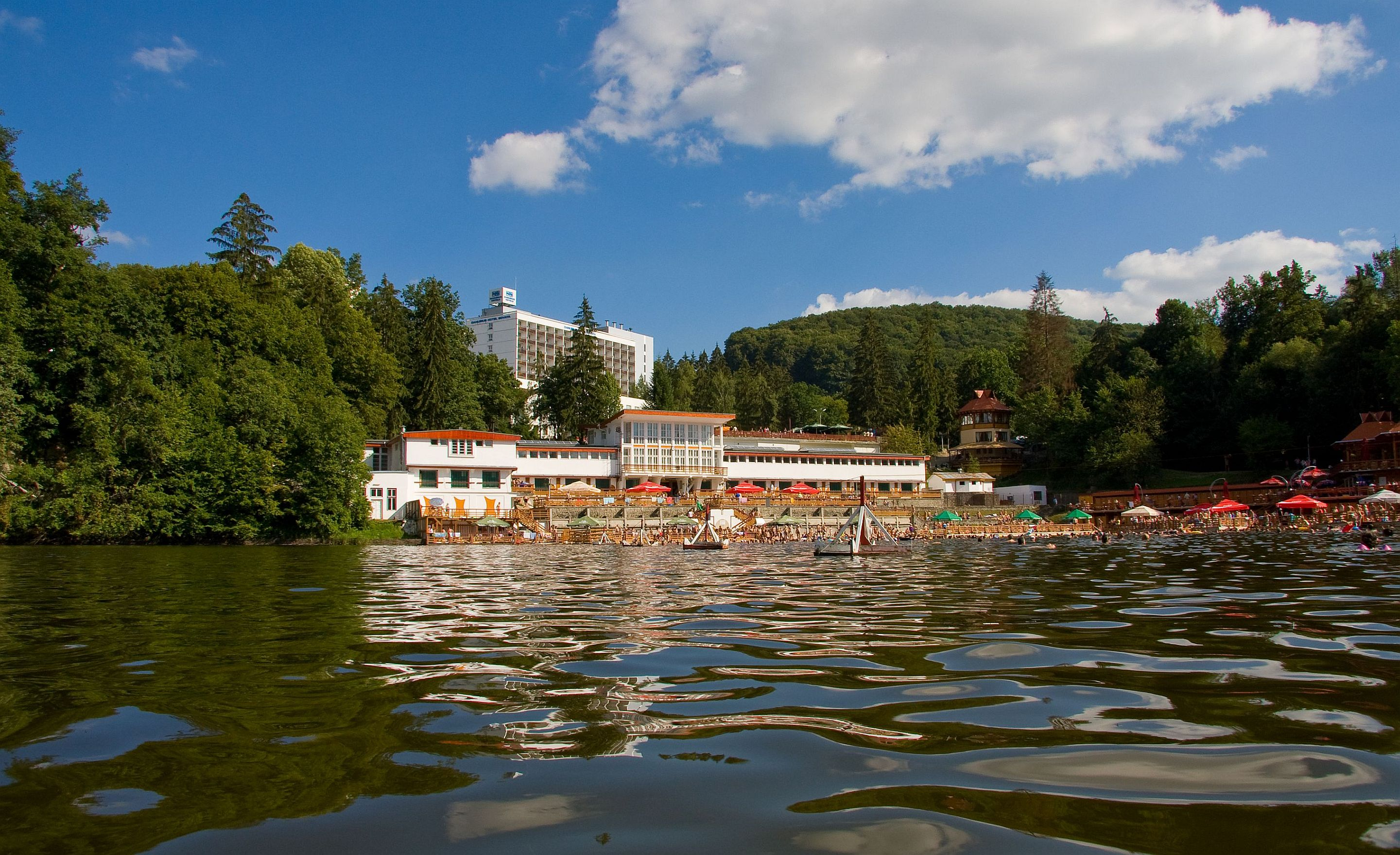4* Thermal Sovata Health Spa Hotel, Erdély, Románia, Ensana
