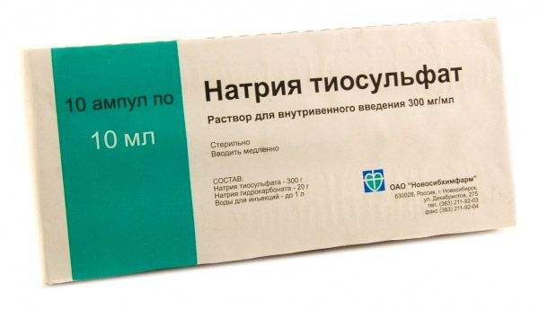 nátrium-tioszulfát. pikkelysömör kezelése)