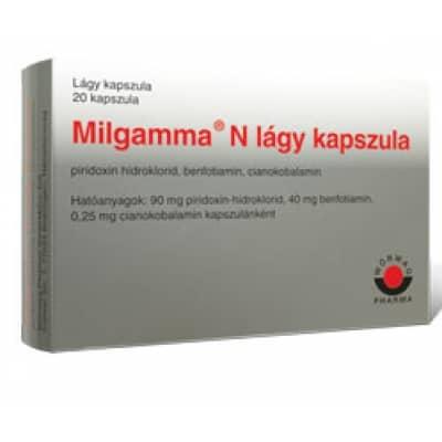 milgamma pikkelysömör kezelésére)